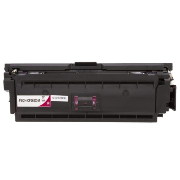 WL Tonerkassett, erstatter HP 508X, magenta, 9.500 sider H363X Replace: CF363X