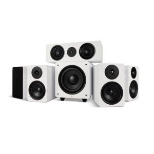 Argon Audio ALTO5 MK2 + ALTO C MK2 + BASS8 MK2 – 5.1 Høyttalersystem