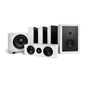 Argon Audio ALTO5WALL + ALTO C MK2 + BASS8 MK2 – 5.1 Høyttalersystem