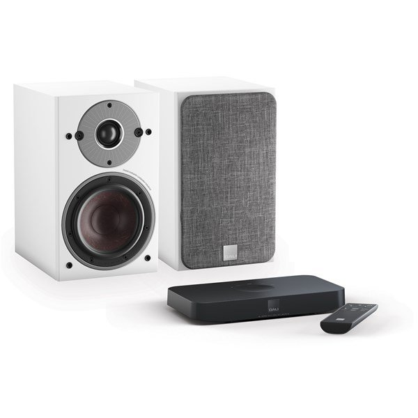 DALI Oberon 1 C + Sound Hub Compact Aktiv høyttalersystem