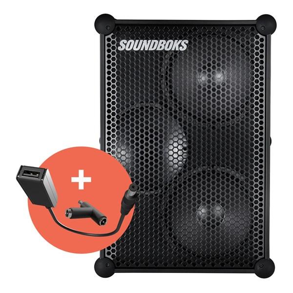 SOUNDBOKS (Gen. 3) + Gearboks Cable Trådløs høyttaler med Bluetooth