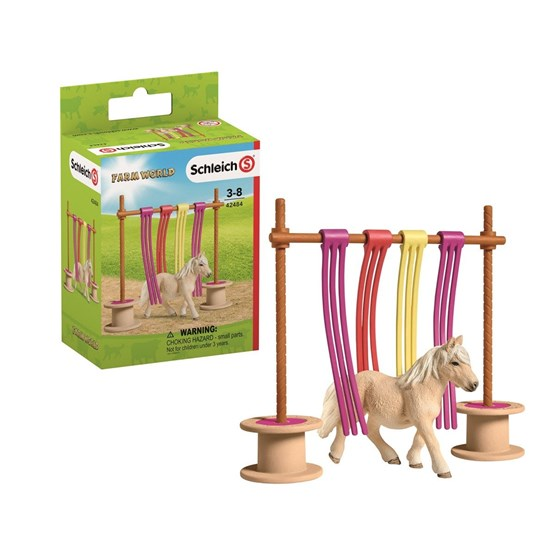 Schleich, Pony Curtain Obstacle